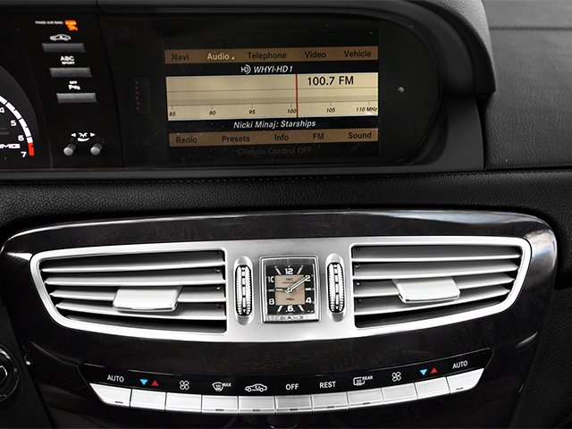 2014 Mercedes-Benz CL-Class Prices and Values 2 Door Coupe stereo system