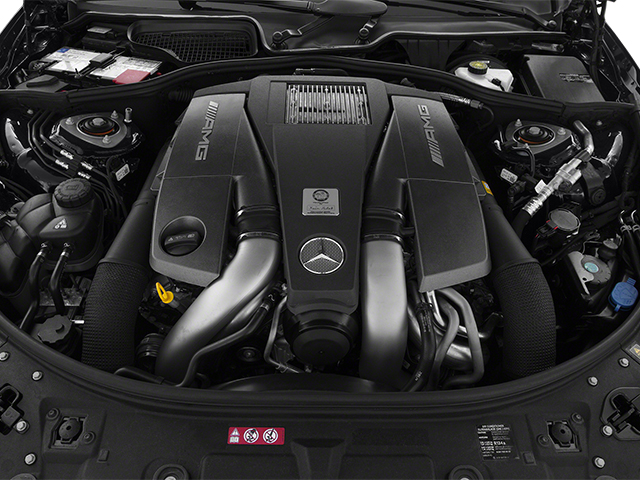 2014 Mercedes-Benz CL-Class Pictures CL-Class Coupe 2D CL63 AMG V8 Turbo photos engine