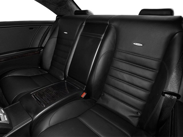 2014 Mercedes-Benz CL-Class Prices and Values Coupe 2D CL63 AMG V8 Turbo backseat interior