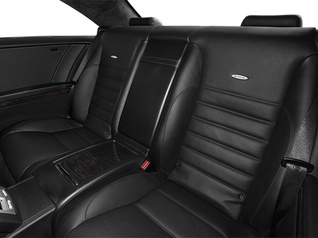 2014 Mercedes-Benz CL-Class Prices and Values 2 Door Coupe backseat interior