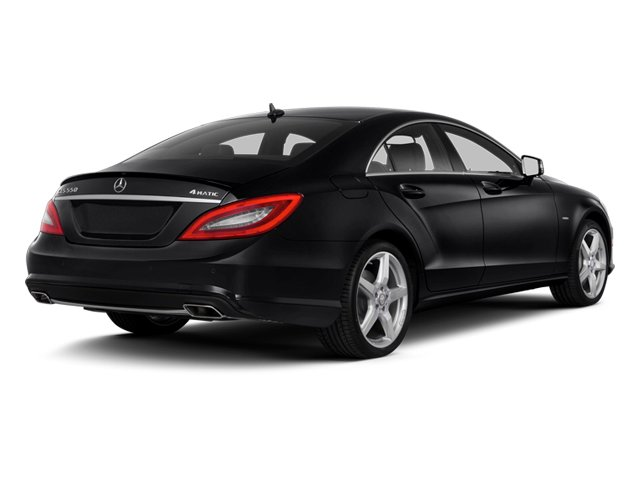 2014 Mercedes-Benz CLS-Class Prices and Values Sedan 4D CLS550 side rear view