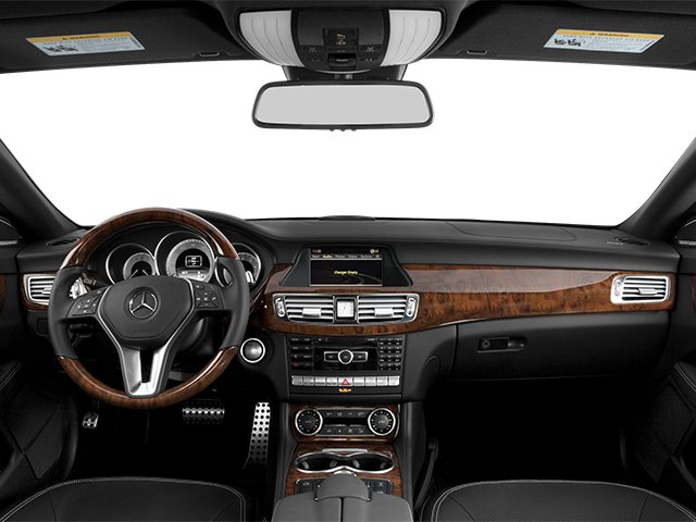 2014 Mercedes-Benz CLS-Class Pictures CLS-Class Sedan 4D CLS550 photos full dashboard