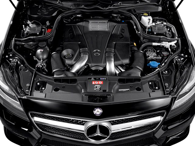 2014 Mercedes-Benz CLS-Class Pictures CLS-Class Sedan 4D CLS550 photos engine