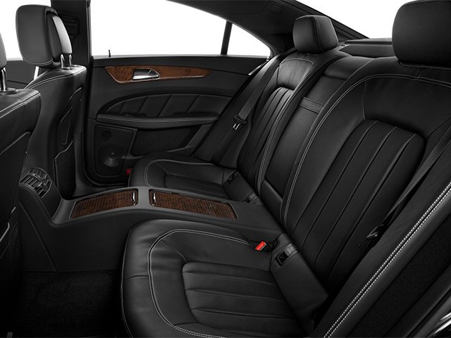 2014 Mercedes-Benz CLS-Class Pictures CLS-Class Sedan 4D CLS550 photos backseat interior