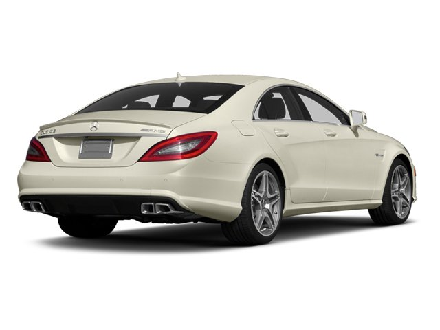 2014 Mercedes-Benz CLS-Class Prices and Values Sedan 4D CLS63 AMG AWD side rear view