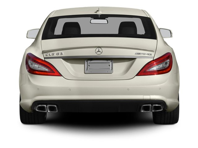 2014 Mercedes-Benz CLS-Class Prices and Values Sedan 4D CLS63 AMG AWD rear view