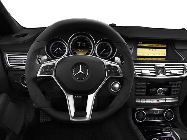 2014 Mercedes-Benz CLS-Class Prices and Values Sedan 4D CLS63 AMG AWD driver's dashboard