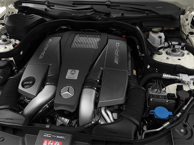 2014 Mercedes-Benz CLS-Class Prices and Values Sedan 4D CLS63 AMG AWD engine