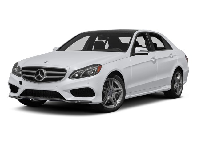 2014 Mercedes-Benz E-Class Prices and Values Sedan 4D E350 side front view