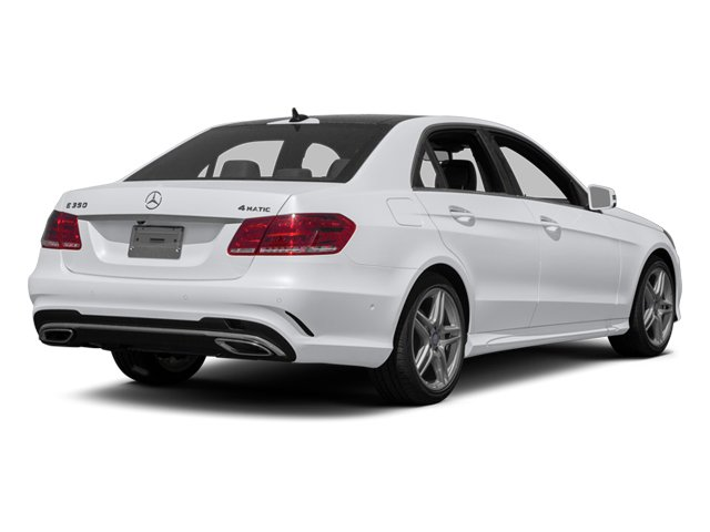 2014 Mercedes-Benz E-Class Prices and Values Sedan 4D E350 side rear view