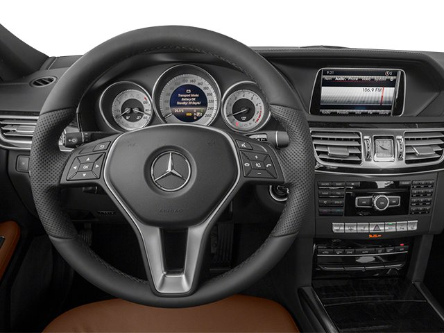 2014 Mercedes-Benz E-Class Prices and Values Sedan 4D E350 AWD driver's dashboard