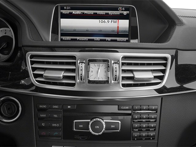 2014 Mercedes-Benz E-Class Prices and Values Sedan 4D E350 stereo system
