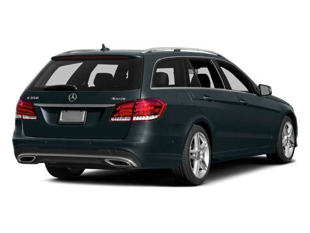 2014 Mercedes-Benz E-Class Prices and Values Wagon 4D E350 AWD side rear view