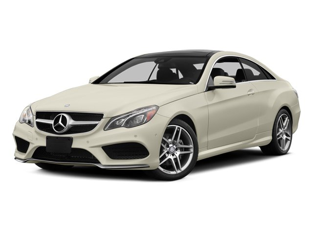 2014 Mercedes-Benz E-Class Pictures E-Class Coupe 2D E350 AWD V6 photos side front view