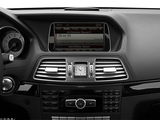 2014 Mercedes-Benz E-Class Prices and Values Coupe 2D E350 V6 stereo system