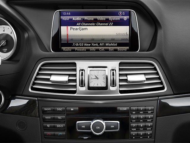 2014 Mercedes-Benz E-Class Prices and Values Convertible 2D E350 V6 stereo system