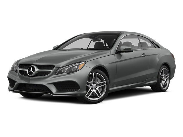 2014 Mercedes-Benz E-Class Prices and Values Coupe 2D E550 V8 Turbo side front view