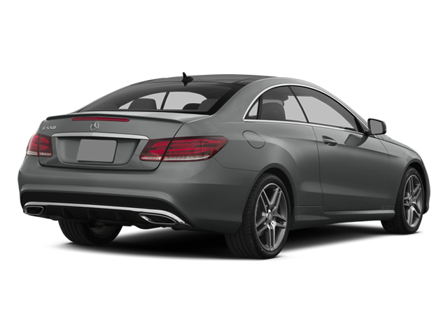 2014 Mercedes-Benz E-Class Prices and Values Coupe 2D E550 V8 Turbo side rear view
