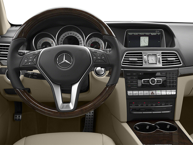 2014 Mercedes-Benz E-Class Prices and Values Coupe 2D E550 V8 Turbo driver's dashboard