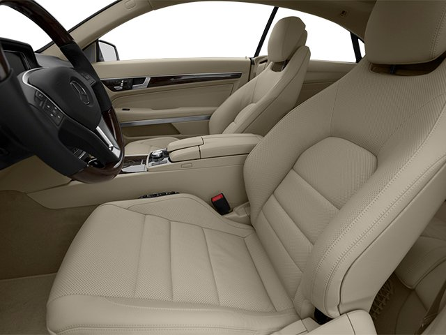 2014 Mercedes-Benz E-Class Prices and Values Coupe 2D E550 V8 Turbo front seat interior