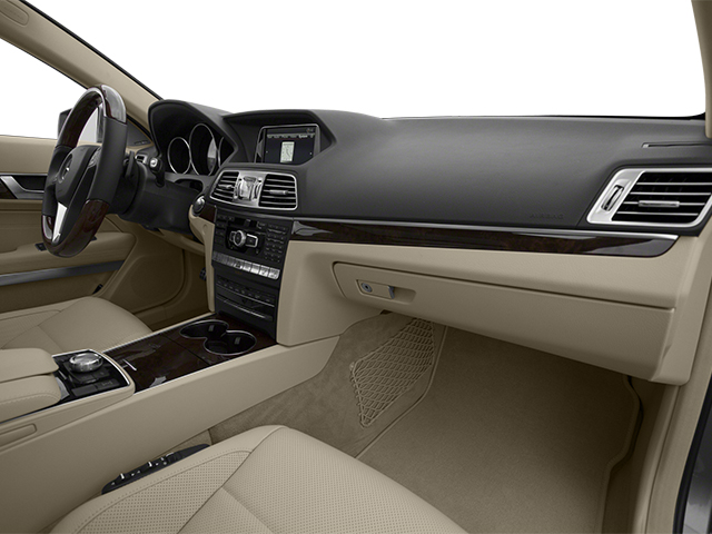 2014 Mercedes-Benz E-Class Prices and Values Coupe 2D E550 V8 Turbo passenger's dashboard