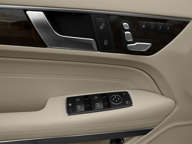 2014 Mercedes-Benz E-Class Prices and Values Coupe 2D E550 V8 Turbo driver's side interior controls