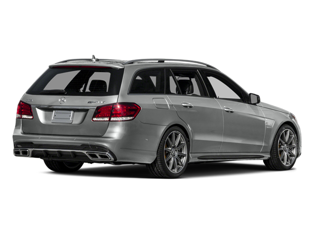 2014 Mercedes-Benz E-Class Prices and Values Wagon 4D E63 AMG S AWD V8 Turbo side rear view