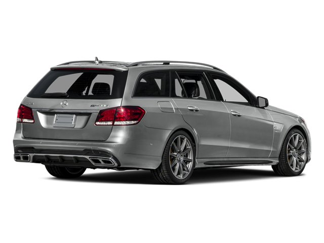 2014 Mercedes-Benz E-Class Pictures E-Class Wagon 4D E63 AMG S AWD V8 Turbo photos side rear view