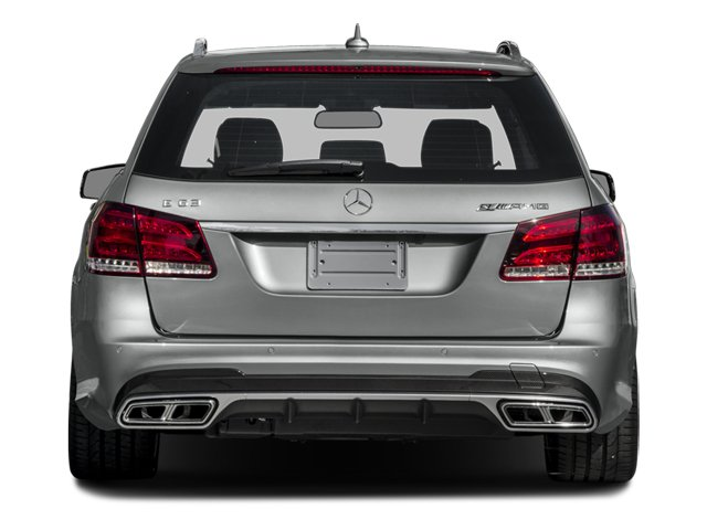 2014 Mercedes-Benz E-Class Prices and Values Wagon 4D E63 AMG S AWD V8 Turbo rear view