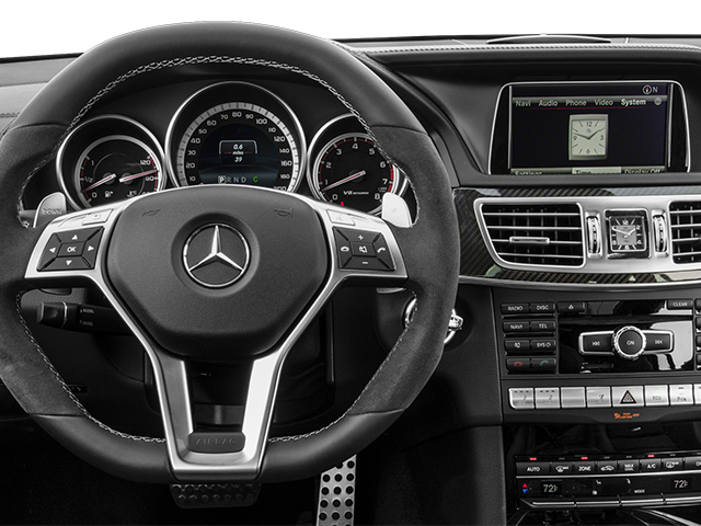 2014 Mercedes-Benz E-Class Prices and Values Wagon 4D E63 AMG S AWD V8 Turbo driver's dashboard