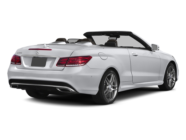 2014 Mercedes-Benz E-Class Prices and Values Convertible 2D E550 V8 Turbo side rear view