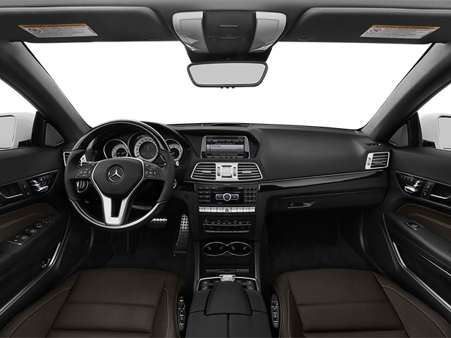 2014 Mercedes-Benz E-Class Prices and Values Convertible 2D E550 V8 Turbo full dashboard