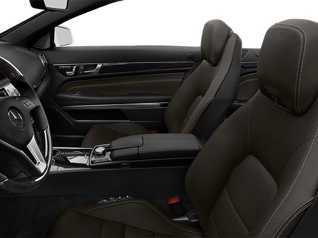 2014 Mercedes-Benz E-Class Prices and Values Convertible 2D E550 V8 Turbo front seat interior