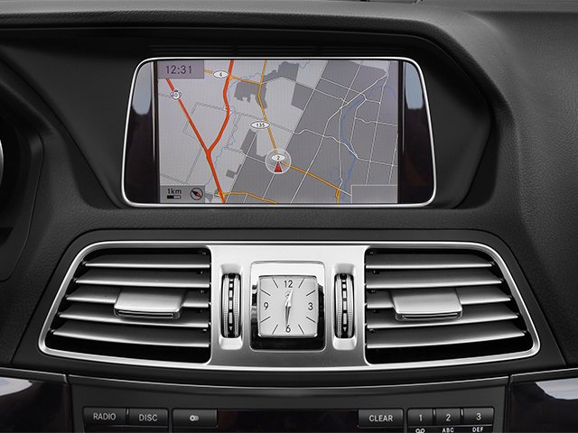 2014 Mercedes-Benz E-Class Prices and Values Convertible 2D E550 V8 Turbo navigation system