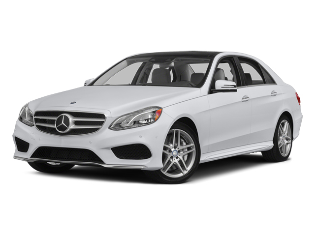 2014 Mercedes-Benz E-Class Prices and Values Sedan 4D E550 AWD side front view