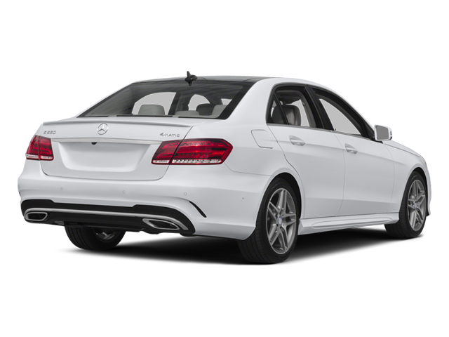 2014 Mercedes-Benz E-Class Prices and Values Sedan 4D E550 AWD side rear view