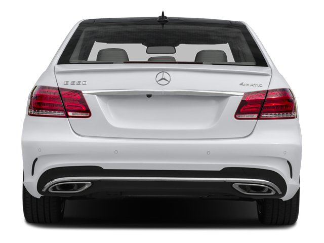 2014 Mercedes-Benz E-Class Prices and Values Sedan 4D E550 AWD rear view