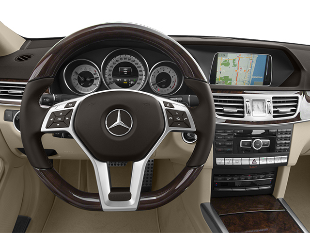 2014 Mercedes-Benz E-Class Prices and Values Sedan 4D E550 AWD driver's dashboard