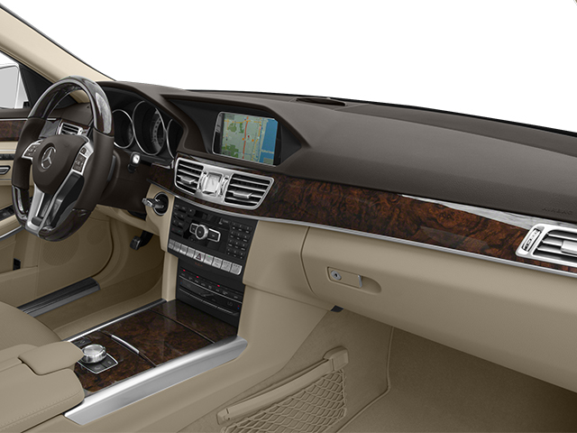 2014 Mercedes-Benz E-Class Prices and Values Sedan 4D E550 AWD passenger's dashboard