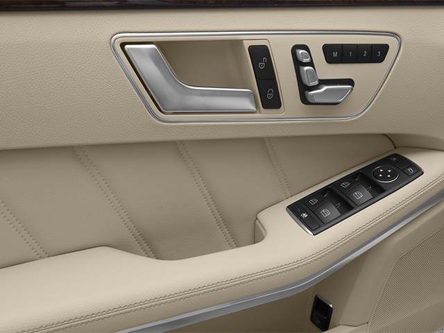 2014 Mercedes-Benz E-Class Prices and Values Sedan 4D E550 AWD driver's side interior controls