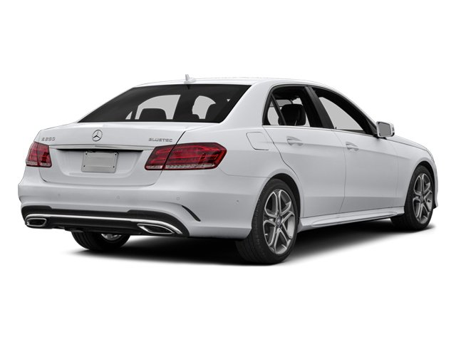2014 Mercedes-Benz E-Class Prices and Values Sedan 4D E250 BlueTEC I4 T-Diesel side rear view