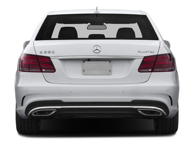 2014 Mercedes-Benz E-Class Prices and Values Sedan 4D E250 BlueTEC AWD I4 T-Diese rear view