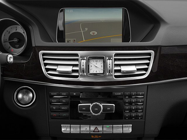 2014 Mercedes-Benz E-Class Prices and Values Sedan 4D E250 BlueTEC AWD I4 T-Diese navigation system