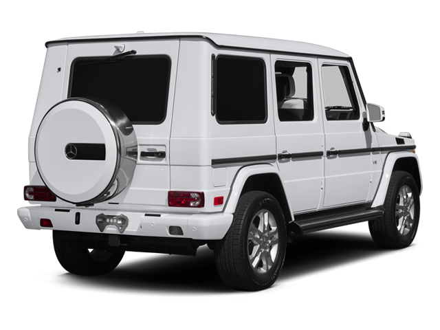 2014 Mercedes-Benz G-Class Prices and Values 4 Door Utility 4Matic side rear view