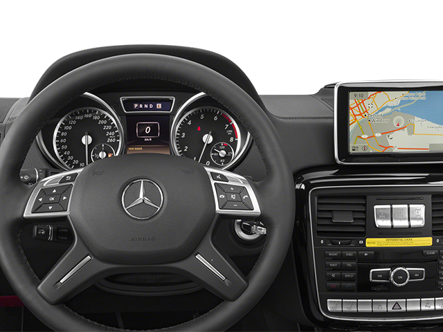 2014 Mercedes-Benz G-Class Prices and Values 4 Door Utility 4Matic driver's dashboard
