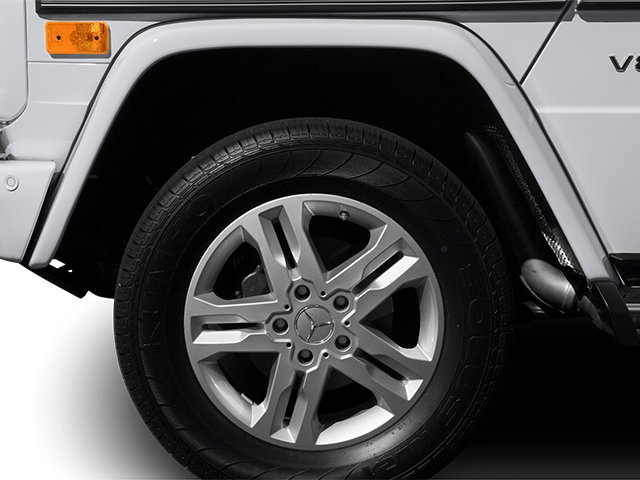 2014 Mercedes-Benz G-Class Prices and Values 4 Door Utility 4Matic wheel