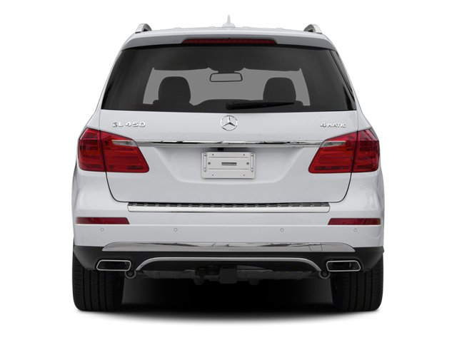 2014 Mercedes-Benz GL-Class Prices and Values Utility 4D GL450 4WD V8 rear view