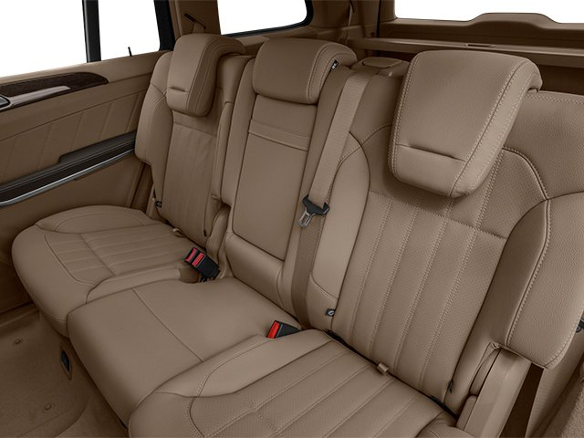 2014 Mercedes-Benz GL-Class Prices and Values Utility 4D GL450 4WD V8 backseat interior