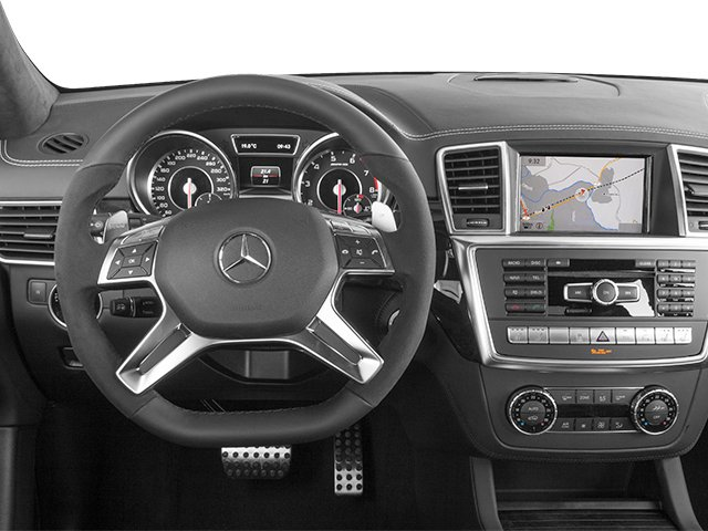 2014 Mercedes-Benz GL-Class Prices and Values Utility 4D GL63 AMG 4WD V8 driver's dashboard