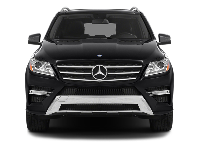 2014 Mercedes-Benz M-Class Pictures M-Class Utility 4D ML550 AWD V8 Turbo photos front view